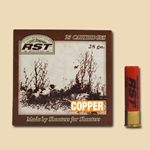 "28 Ga. • 2 3/4"" • Ultra Lite • Vel. 1100 • 3/4 oz. Load • Copper Plated Lead Shot - Case - PG.28.23/4.LT.3/4.C"