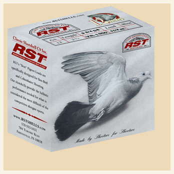 "***OUT OF STOCK*** 12 Ga. • 2 3/4"" • Pigeon 3 3/4 DE • Vel. 1350 • 1 1/4 oz. Load - Case"